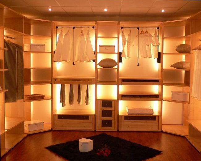 гардеробные для верхней одежды