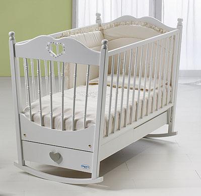 кроватка детская качалка фото